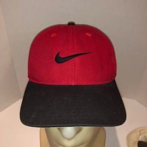 VTG Nike Grey Tag Baseball Hat
